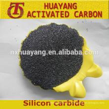 SiC 98.5% Materiales refractarios y abrasivos Carburo de silicio verde / negro