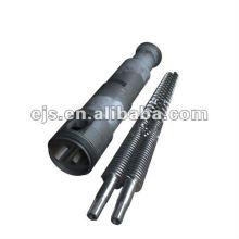 Extruder Twin Schraube Barrel für PVC-Bearbeitungsmaschine