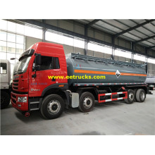 20T 18000L Dilution Sulfuric Acid Tank Trailers