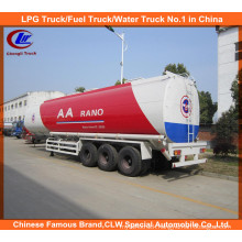 42000~45000liters Oil Tank Trailer, Large Capacity Fuel Tanker Trailer for Sale