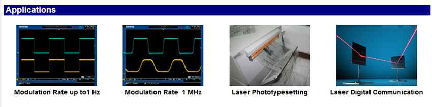 applications of high frequency laser