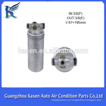 "Aire acondicionado ac Receptor Secador de aire / c receptor Secador / Acumulador 67x195mm 3/8 ""(F) Filtro Secador"
