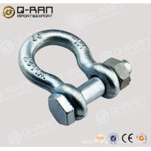 Perno tipo cadena grillete/acero de carbón forjado perno tipo cadena grillete