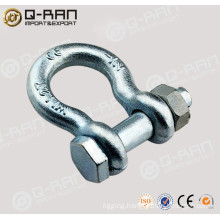 Bolt Type Chain Shackle/Carbon Steel Forged Bolt Type Chain Shackle