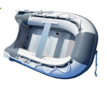 Bote de remos de barco de pesca PVC inflable pequeño