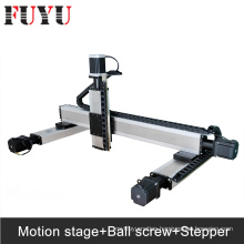 Fuyu Ballscrew drive linear xyz motorized stage nema34 stepper motor drive