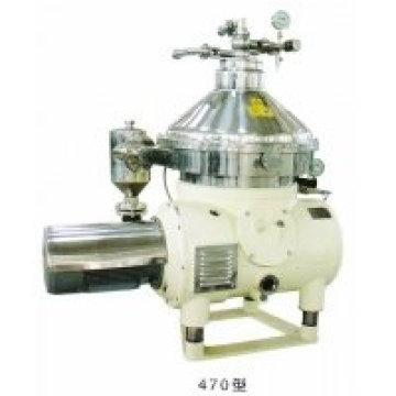 Matériel d'écrémage de graisse de lait triphasé de disque en Chine