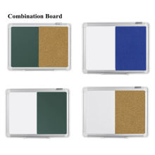 Combination Dry Erase Green Board Cork Bulletin Board