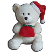 ICTI Audited Fábrica delicado regalo de felpa de juguete de Navidad