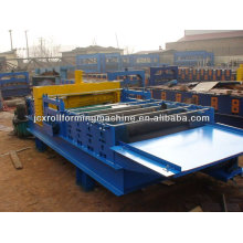 levelling machine with hydraulic cutting