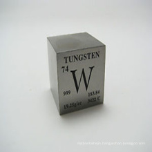 Manufacturing 1kg Pure Tungsten Cube For Desktop
