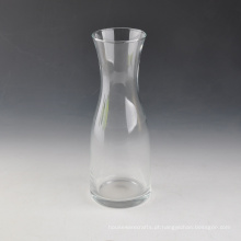 Venda quente de vidro claro vaso