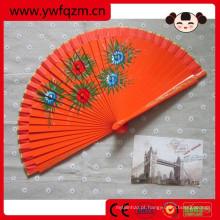 ventilador de mão de bambu, barato ventilador de mão, ventilador de mão de crianças