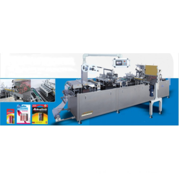 Horizontal Line Transfer Paper Plastic Blister Packing Machine