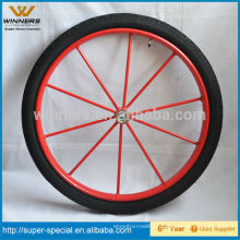 Roda de carruagem pneumática para serviço pesado