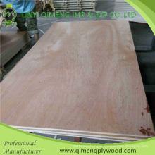Bbcc Grade Popar or Hardwood Core 1220X2440X15mm Bintangor Plywood