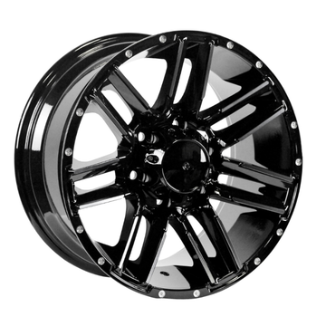 Pick-up velg zwart 17x8,5 6X139.7
