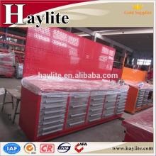 Banco de trabajo de acero industrial hecho y vendido de la industria para el almacenaje de la herramienta