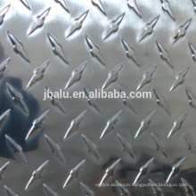 China Henan finish plain embossed aluminum sheet/plate for press