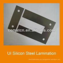 Laminación de acero de silicio de la interfaz de usuario