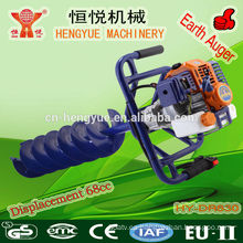 HY-DR830 hielo taladro máquina 68cc icedrill