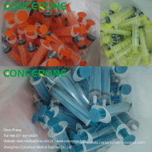 Printed Refill Ink Syringe, Colored Syringe for Inkjet Printer
