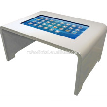 42inch Interactive capacitive Touch table information kiosk fashion multi touch screen coffee table
