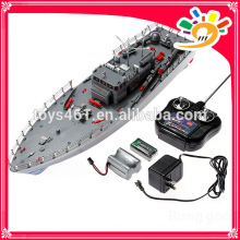Hengtai HT-2877A 4CH Infrarrojos RC War Battle Ship Con Gyro rc naves para la venta modelo de barco