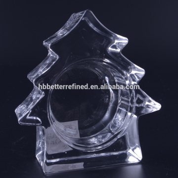 Crystal Tea Light Christmas-kaarsenhouder