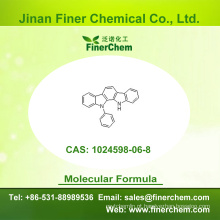 Cas 1024598-06-8 | 11,12-Di-hidro-11-fenilindolo [2,3-a] carbazole | OLED intermediário | 1024598-06-8 | preço de fábrica; Grande estoque