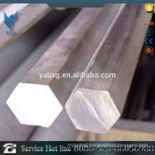 ASTM A582 cold draw S8 to S10 Stainless steel hexagon bar