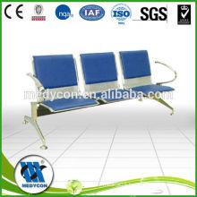 BDEC202 Hospital metal padded waiting chairs