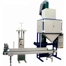 Grain weight and pack scale bagging scale system