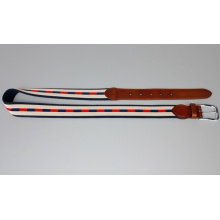 Canvas leather belt new belt golf belt