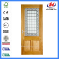*JHK-D0048 2 Panel Interior Door Discount Fiberglass Doors Fiberglass Sliding Doors