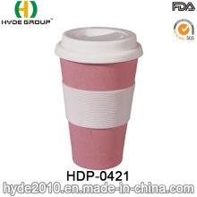 450ml BPA Free Bamboo Fiber Coffee Mug (HDP-0421)
