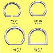 Zinc Alloy D Buckles, Accessories for Handbags