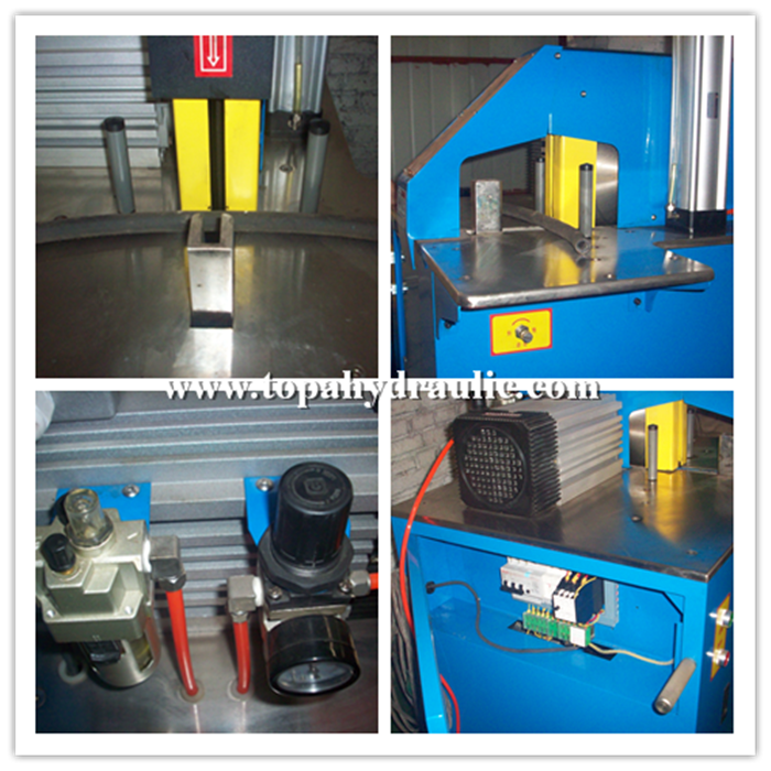 parker hydraulic hose cutting machine