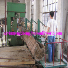 "42"" Log Bandsaw CNC Wood Cutting Band Saw Machine"
