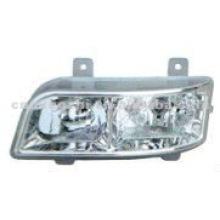 Feux de direction de la tête de bus Auto Lighting 370 * 124 Accessoires de bus HC-B-1381