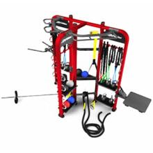 Ginásio Crossfit de uso Synrgy360 grupo de treinamento