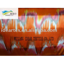 Satin Fabric Polyester Printed Creased (fashion and good quality)