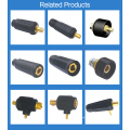 Tig soldagem tocha preço fêmea cabo traseiro adptor 35-95mm2