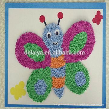 2014 new design EVA Foam craft rducational toys for kids such as butterfly