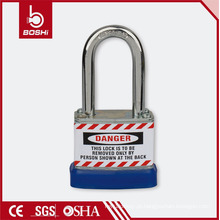 Cadeado laminado de segurança BOSHI Anti-Rust Corrosion Safety BD-J42 com metal de alta resistência