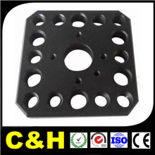 Micro precisão peças de liga de alumínio / peças da máquina CNC