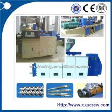 Máquina de extrusão de plástico cônico Twin Screw