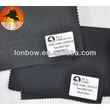 la tela al por mayor del traje de los hombres de las lanas de la sutura sarga Super100