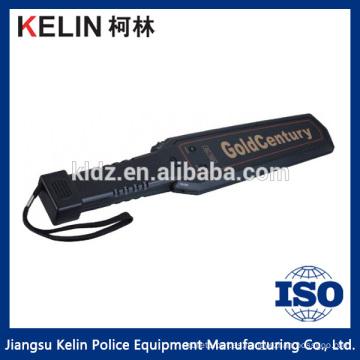 Escáner corporal portátil de seguridad del aeropuerto Detector de metales manual de seguridad escaneado