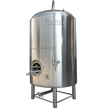 10000L 100HL customized stainless steel temperature control side manhole beer brite tank for sale